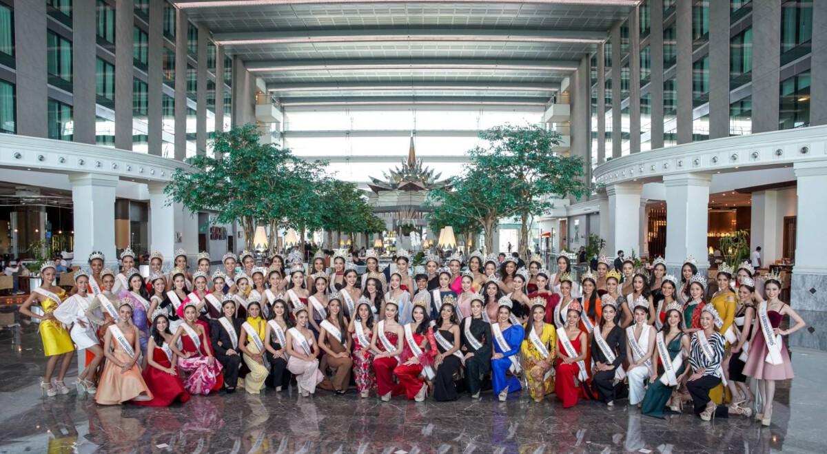 """77 มิสแกรนด์ รายงานตัวสู่กองประกวด """"วันแรก"""" พร้อมประชันมงกุฏ Miss Grand Thailand 2020 : Covid episode"""